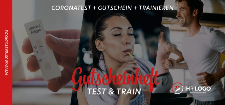 Test and Train - Gutscheinheft