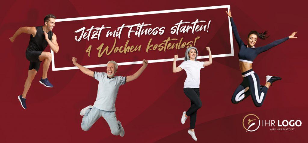 Mit Fitness Starten - MAXICARD XL