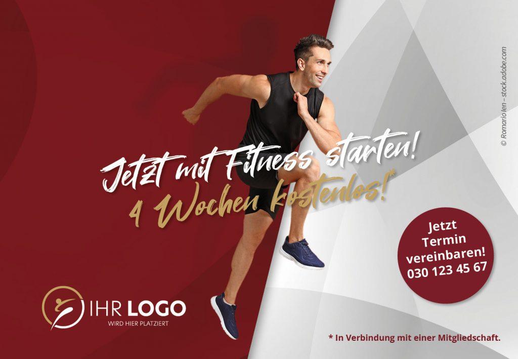 Mit Fitness Starten - Hausbanner Motiv 2