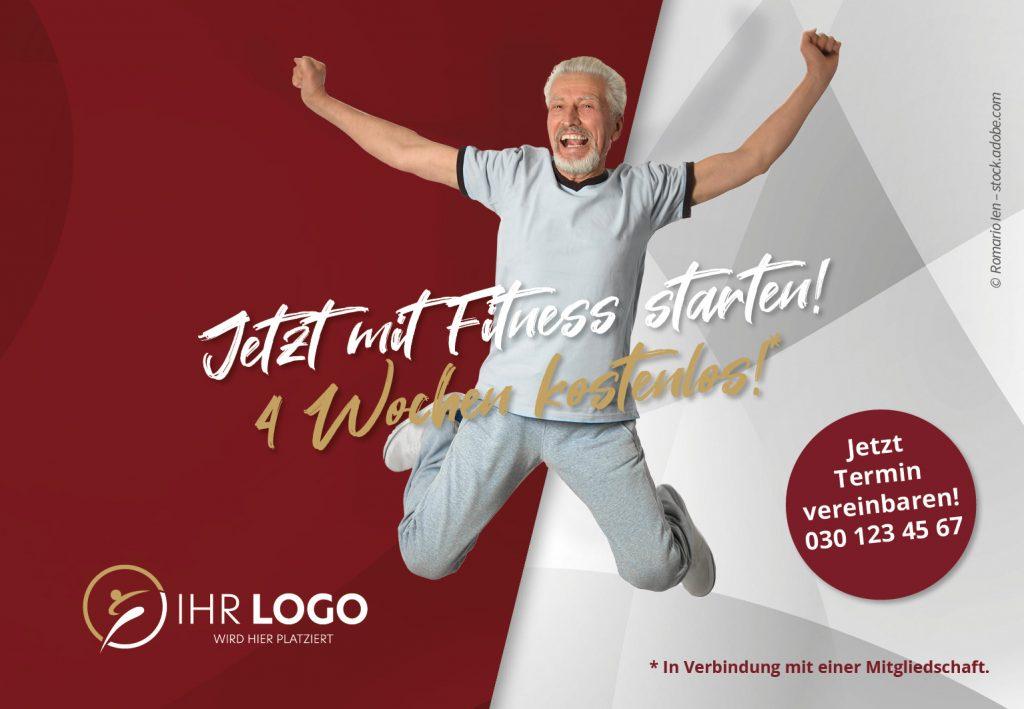 Mit Fitness Starten - Hausbanner Motiv 4