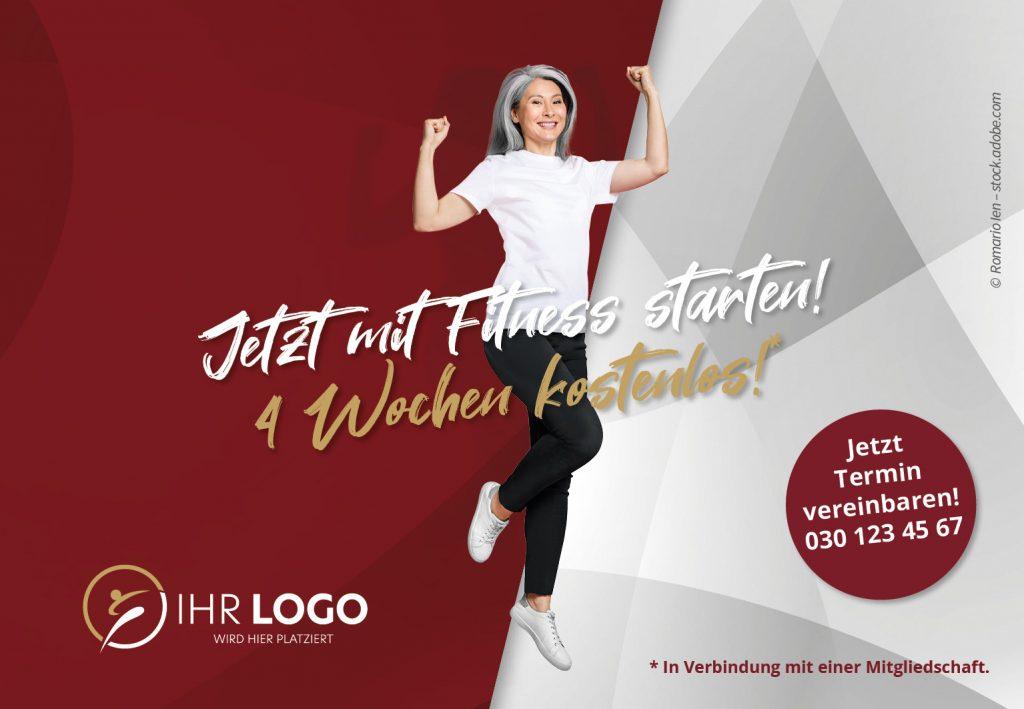 Mit Fitness Starten - Hausbanner Motiv 3